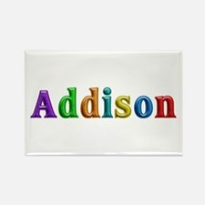 Addison Shiny Colors Rectangle Magnet