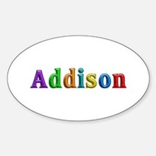 Addison Shiny Colors Oval Decal