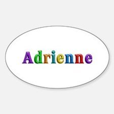 Adrienne Shiny Colors Oval Decal