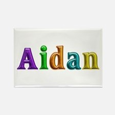 Aidan Shiny Colors Rectangle Magnet