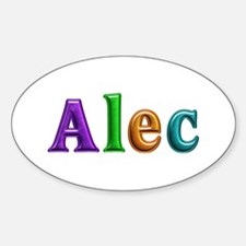 Alec Shiny Colors Oval Decal