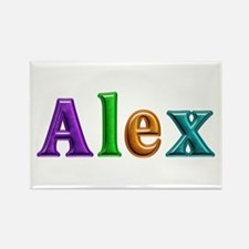 Alex Shiny Colors Rectangle Magnet