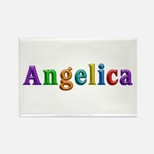 Angelica Shiny Colors Rectangle Magnet