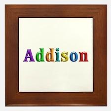 Addison Shiny Colors Framed Tile