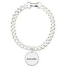 Alexander Shiny Colors Charm Bracelet