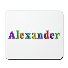 Alexander Shiny Colors Mousepad