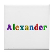 Alexander Shiny Colors Tile Coaster