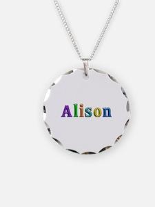 Alison Shiny Colors Necklace