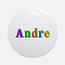 Andre Shiny Colors Round Ornament