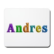 Andres Shiny Colors Mousepad