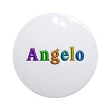 Angelo Shiny Colors Round Ornament