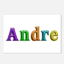Andre Shiny Colors Postcards 8 Pack