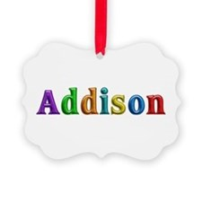 Addison Shiny Colors Ornament