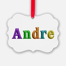 Andre Shiny Colors Ornament
