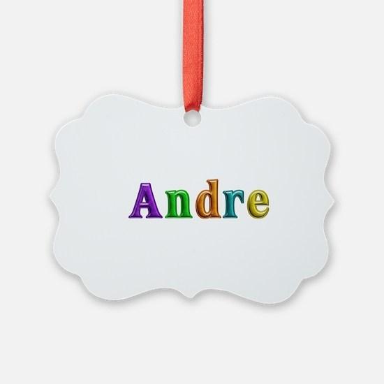 Andre Shiny Colors Ornament