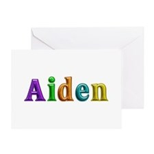 Aiden Shiny Colors Greeting Card