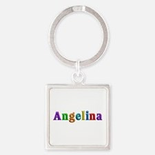 Angelina Shiny Colors Square Keychain