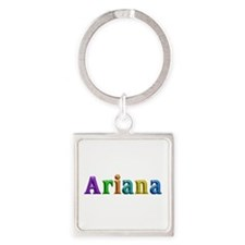 Ariana Shiny Colors Square Keychain
