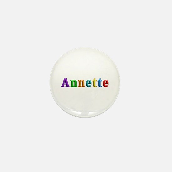 Annette Shiny Colors Mini Button