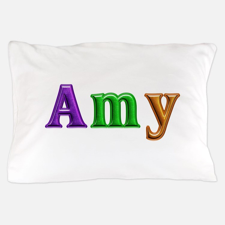 Amy Shiny Colors Pillow Case