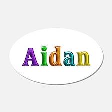 Aidan Shiny Colors Wall Decal
