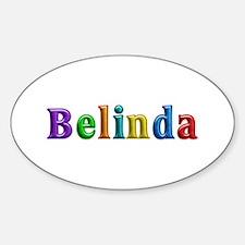 Belinda Shiny Colors Oval Decal
