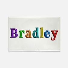 Bradley Shiny Colors Rectangle Magnet
