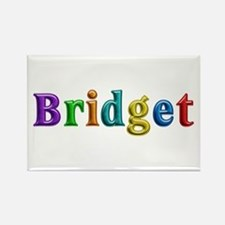 Bridget Shiny Colors Rectangle Magnet