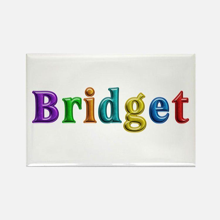 Bridget Shiny Colors Rectangle Magnet