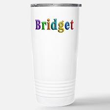 Bridget Shiny Colors Stainless Steel Travel Mug