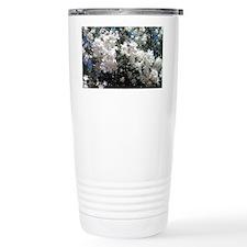 Flora Blanco Thermos Mug