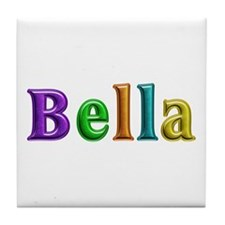 Bella Shiny Colors Tile Coaster
