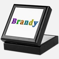 Brandy Shiny Colors Keepsake Box