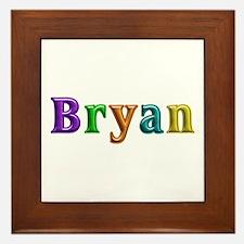 Bryan Shiny Colors Framed Tile