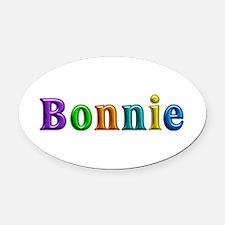 Bonnie Shiny Colors Oval Car Magnet