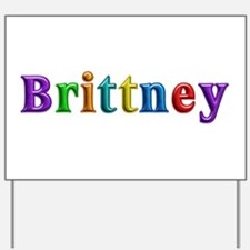 Brittney Shiny Colors Yard Sign