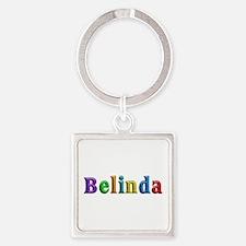 Belinda Shiny Colors Square Keychain