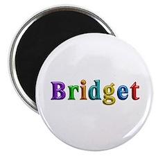 Bridget Shiny Colors Round Magnet 100 Pack