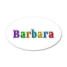 Barbara Shiny Colors Wall Decal