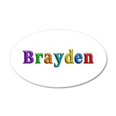 Brayden Shiny Colors Wall Decal