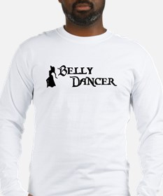 Belly Dancer Pose Long Sleeve T-Shirt