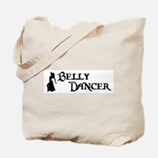 Belly Dancer Pose Tote Bag
