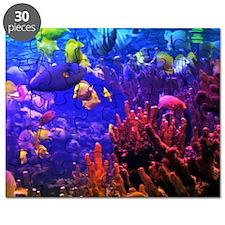 Neon Fish Puzzle