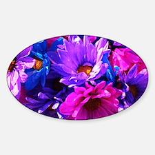 Pink & Purple Flowers Decal