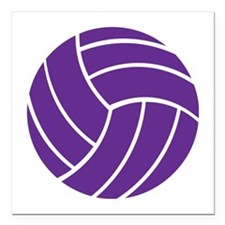 """Volleyball - Sports Square Car Magnet 3"""" x 3"""""""