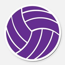 Volleyball - Sports Round Car Magnet