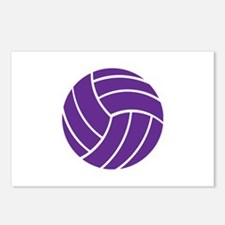 Volleyball - Sports Postcards (Package of 8)