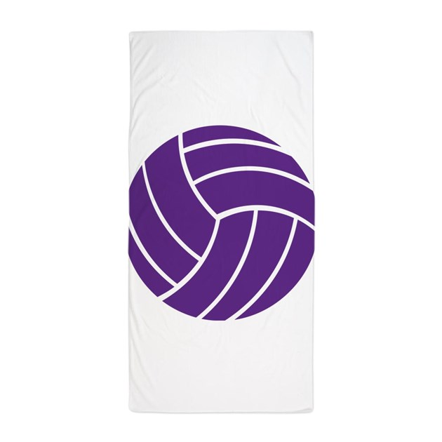 Beach Blanket Volleyball: Sports Beach Towel By Admin_CP65475253