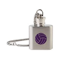 Volleyball - Sports Flask Necklace