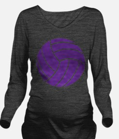 Volleyball - Sports Long Sleeve Maternity T-Shirt